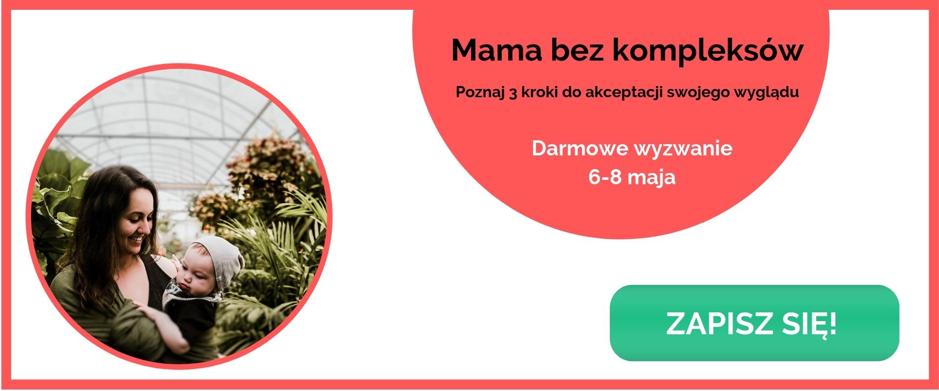 Mama bez kompleksów banner